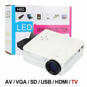 Led mini proyector H80