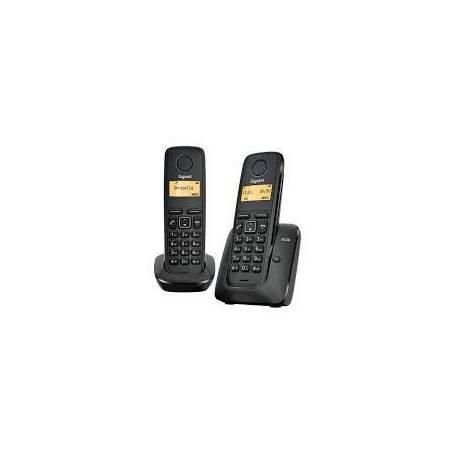 Telefono Gigaset A420 Negro hogar / oficina