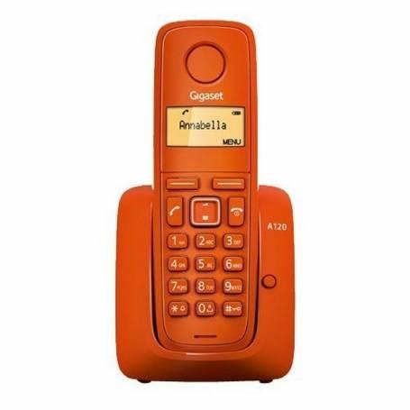 Telefono Inalambrico Gigaset A120 Rojo