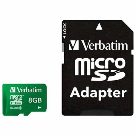 Tarjeta Micro SD HC 8GB Clase 10 Verbatim