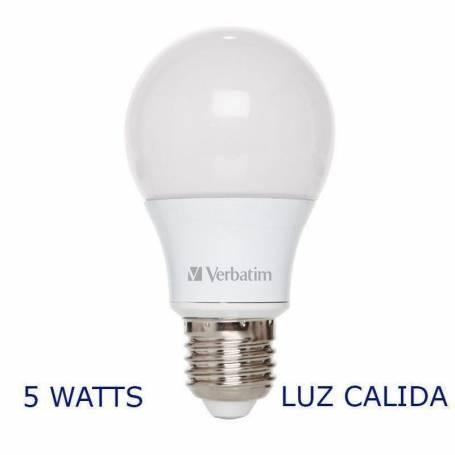 Luz LED Blanco calido 5.3 W 470 Lumens VERBATIM 99324