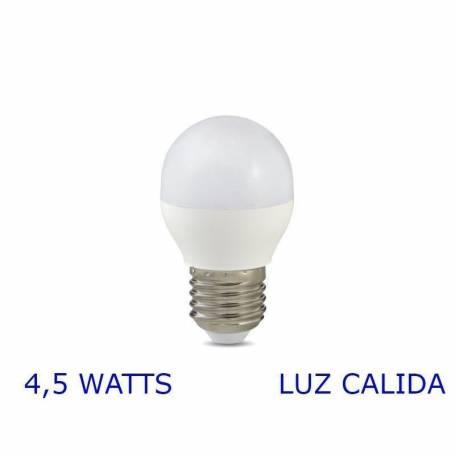 Luz LED GOTA E27, 4,5W Calida VERBATIM 99527