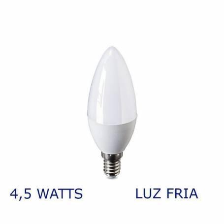 Luz LED VELA E14, 4,5W Fria VERBATIM 99853