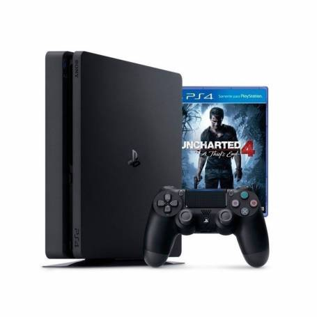 Consola PlayStation 4 Slim Hd 500gb + JUEGO UNCHARTED  4