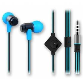 Auriculares Noga NG-1956 Azul In Ear