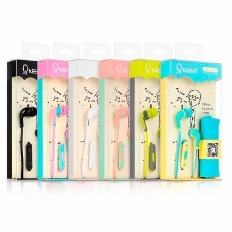 Auriculares in ear Keeka EE-9 Varios colores