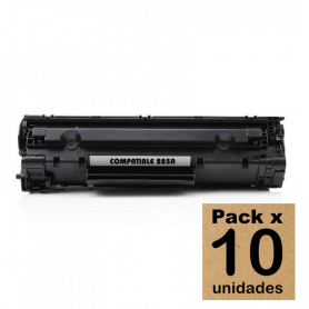 Pack x 10 unidades Toner para HP 85A alternativo