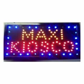 Cartel LED Abierto 48x25