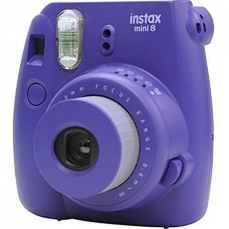 Camara Fujifilm Instax Mini 8 Violeta Incluye 10 fotos