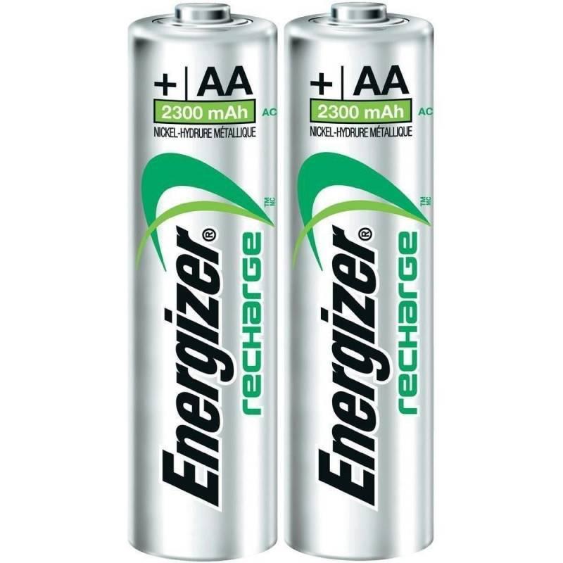 Pila Recargable Energizer AA Pack 2 Unidades