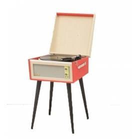 Tocadiscos Vintage con pie OOKLY Mod OKN 088