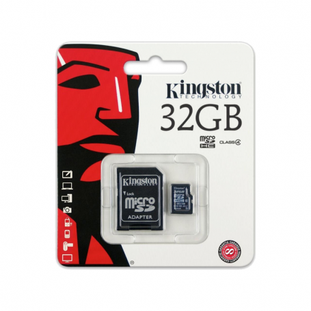 Tarjeta Micro SD 32GB  Kingston Clase 4