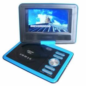"""DVD Portatil 7.8"""" MP3 MP4 DVD TV DIVX USB SD JUEGOS"""