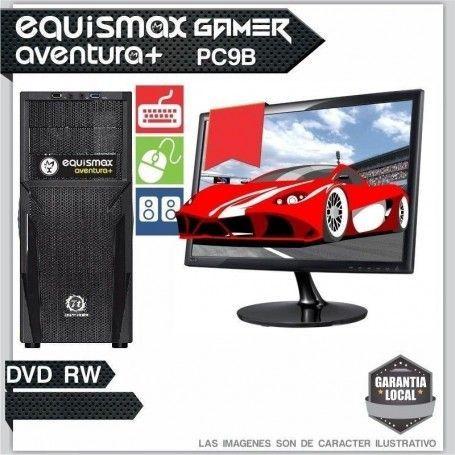 Pc Equismax Aventura+ AMD RYZEN 5 1400 / 8GB / HD 1TB +MONITOR