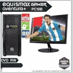 Pc Equismax Aventura+ Intel Core I3 8100 / 8GB / HD 1TB + MONITOR