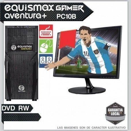 Pc Equismax Aventura+ Intel Core I3 8100 / 8GB / HD 1TB + MONITOR