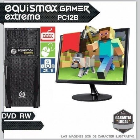 Pc Equismax Extrema Intel Core I5 7400/ 8GB / HD 1TB + MONITOR