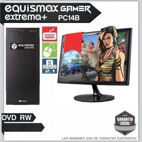 Pc Equismax Extrema+ Intel Core I7 8700 / 8GB / HD 1TB + monitor