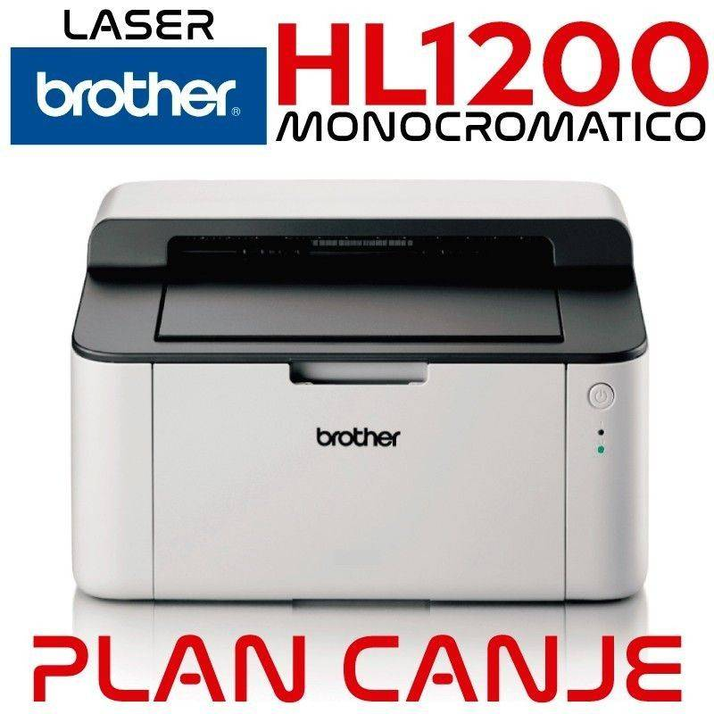 Impresora Brother HL -1112 Monocromatica