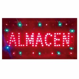 Cartel LED ALMACEN 48x25