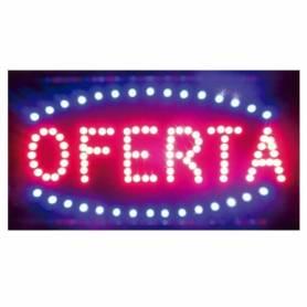 Cartel LED OFERTA  48x25