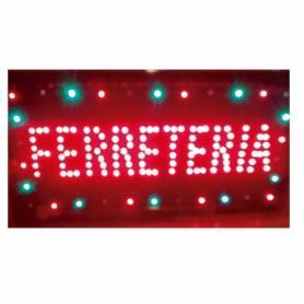 Cartel LED FERRETERIA 48x25