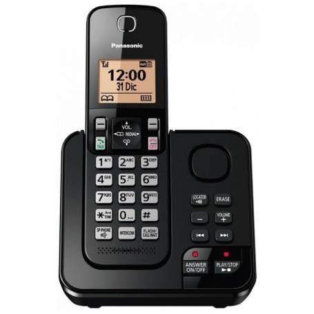 Telefono KX-TGC360 C/CONTESTADOR  Negro Panasonic inalámbrico