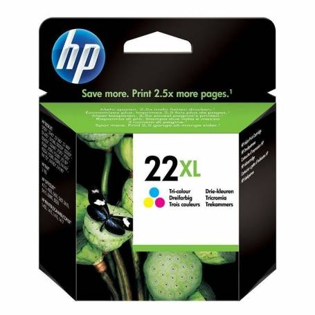 Cartucho HP 22 XL original tricolor OFERTA