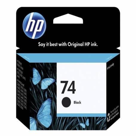 Cartucho HP 74 original de tinta negra