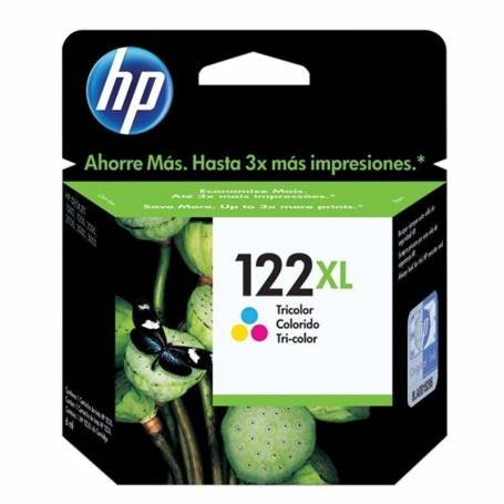 Cartucho  HP 122 XL original de tinta tricolor
