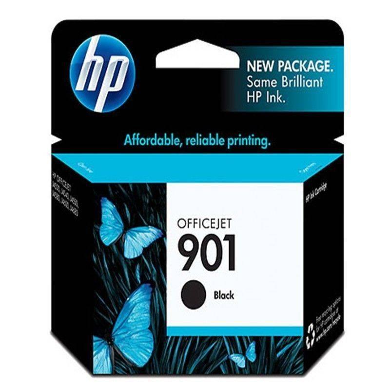Cartucho  HP 901 original de tinta negra