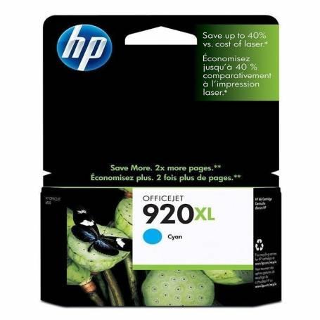 Cartucho  HP 920 XL original de tinta cian