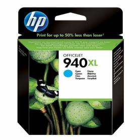 Cartucho HP 940 XL original de tinta cian