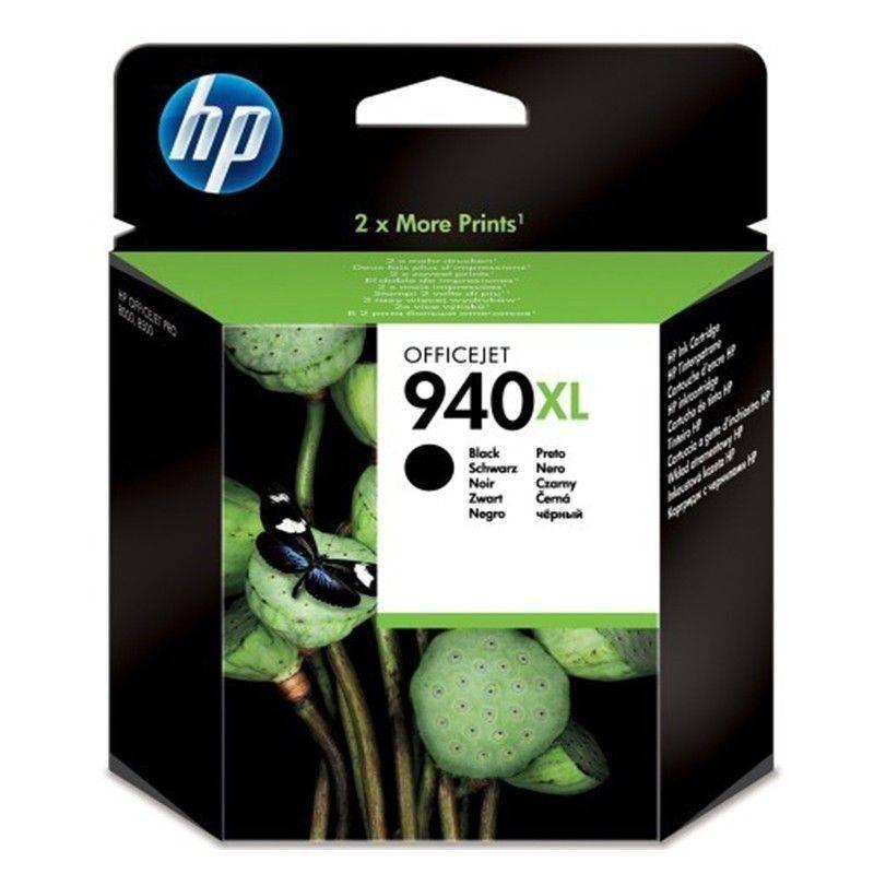 Cartucho  HP 940 XL original de tinta negra