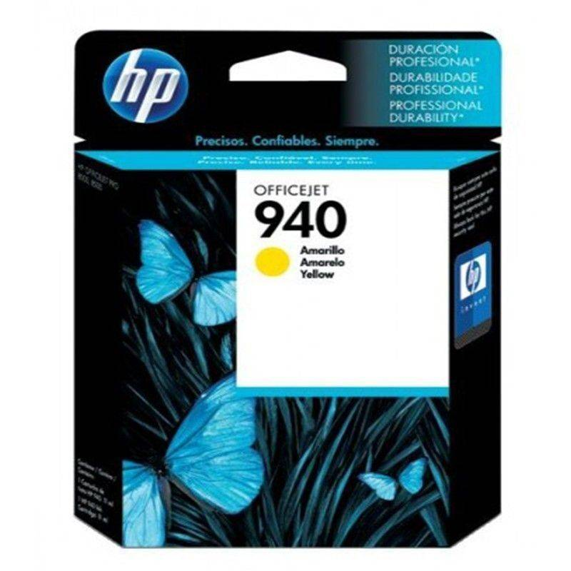 Cartucho HP 940 original de tinta amarillo