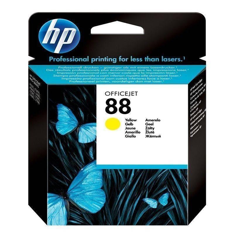 Cartucho HP 88 original de tinta negra