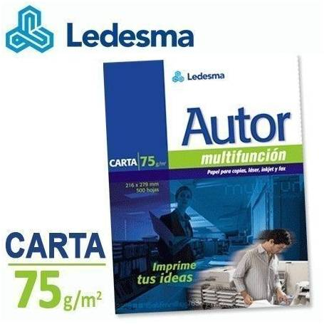 Resma Ledesma Autor Carta Multifuncion de 75 grs