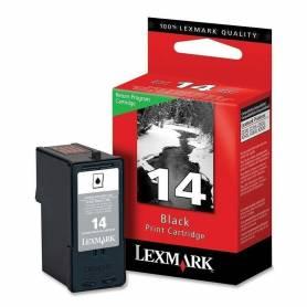 Cartucho Lexmark 14 original de tinta negra