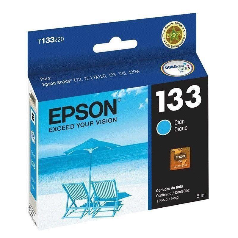 Cartucho cian Epson 135
