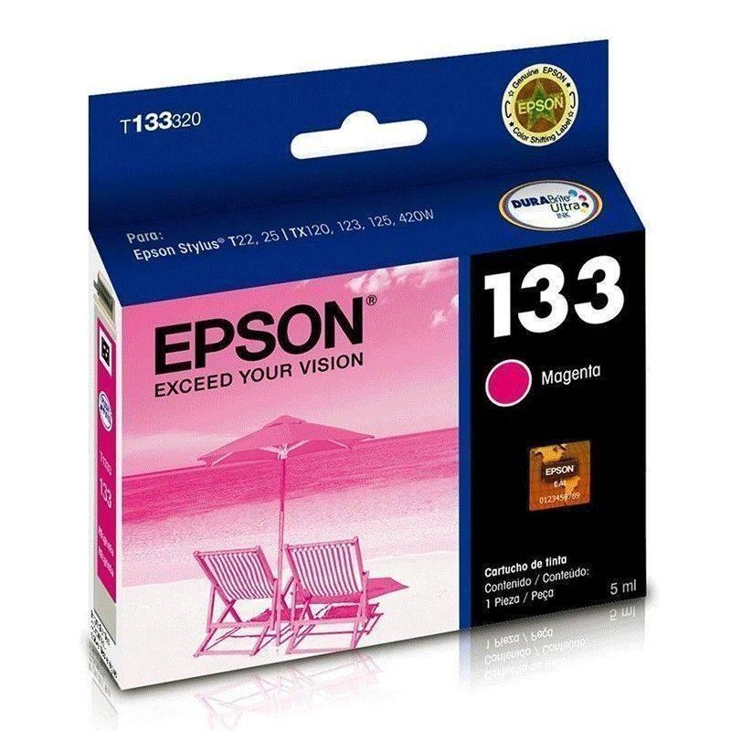 Cartucho magenta Epson 133