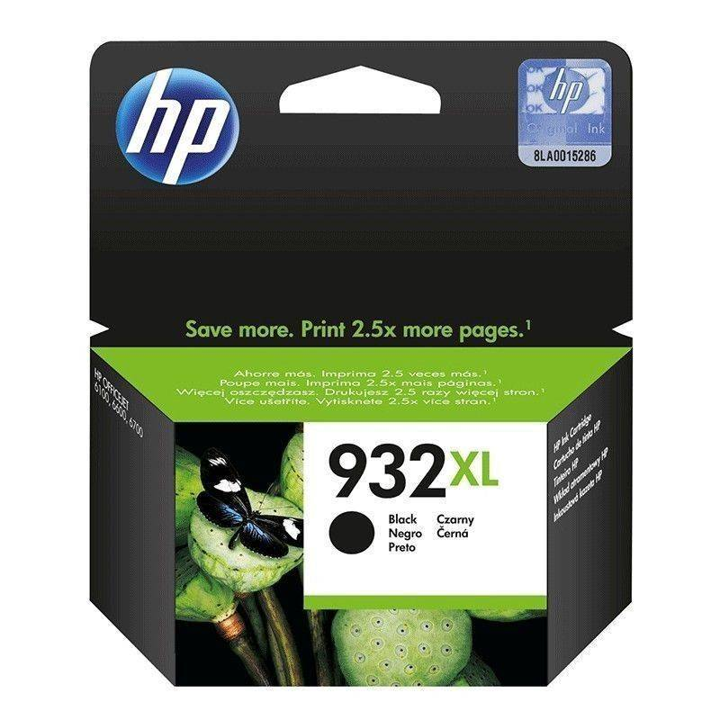 Cartucho  HP 932 xl original de tinta negra