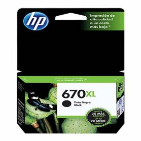 Cartucho  HP 670 xl original de tinta negra