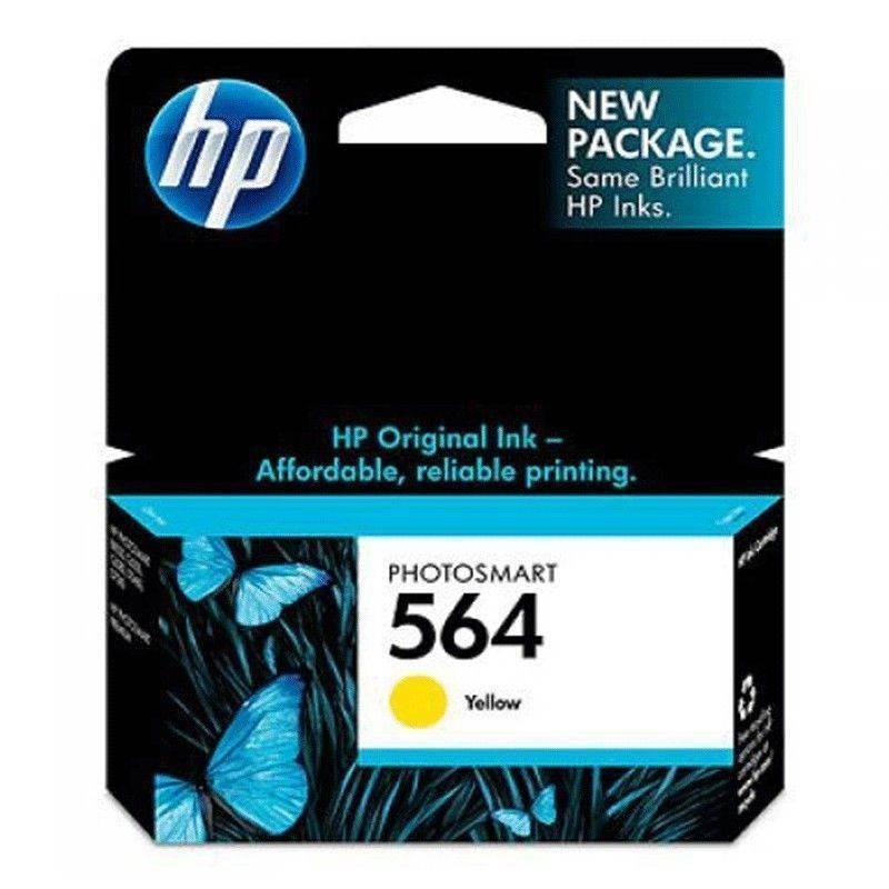 Cartucho HP 564 original de tinta amarilla
