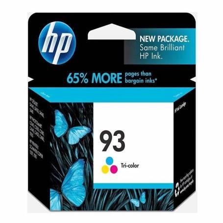 Cartucho   HP 93 original de tinta tricolor