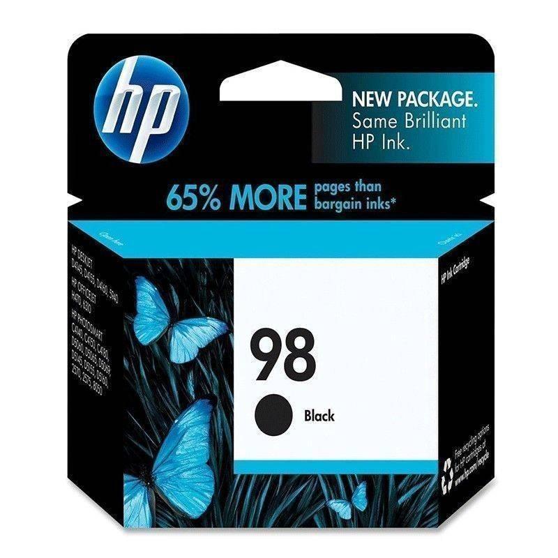 Cartucho   HP 98 original de tinta negra