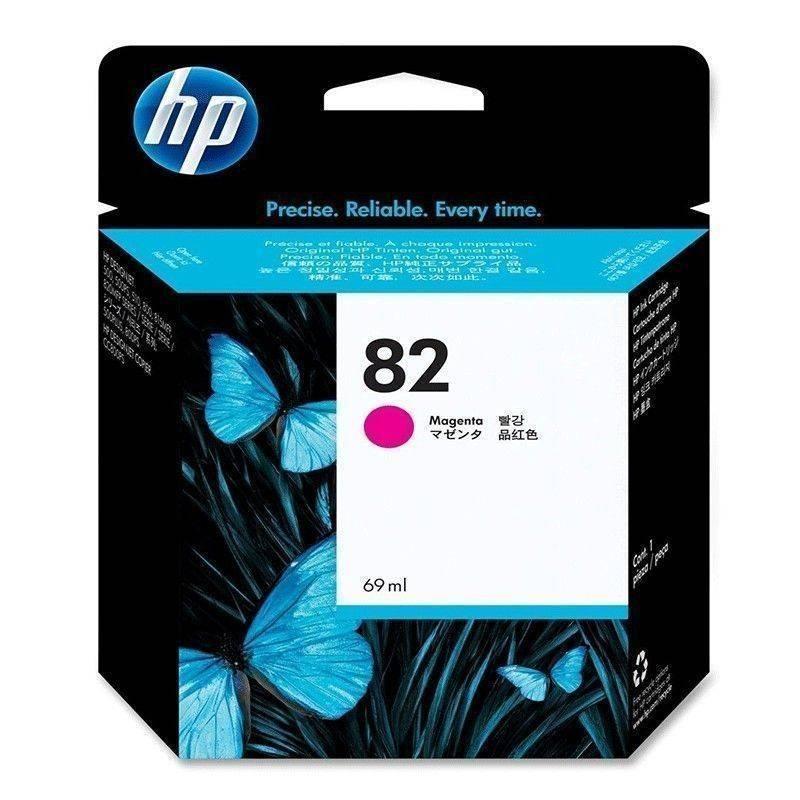 Cartucho   HP 82 original de tinta magenta