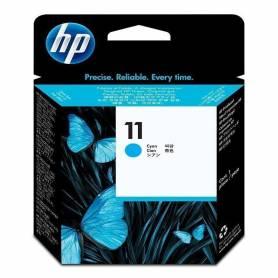 Cabezal  HP 11 original de tinta cian