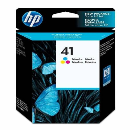 Cartucho   HP 41 original de tinta tricolor