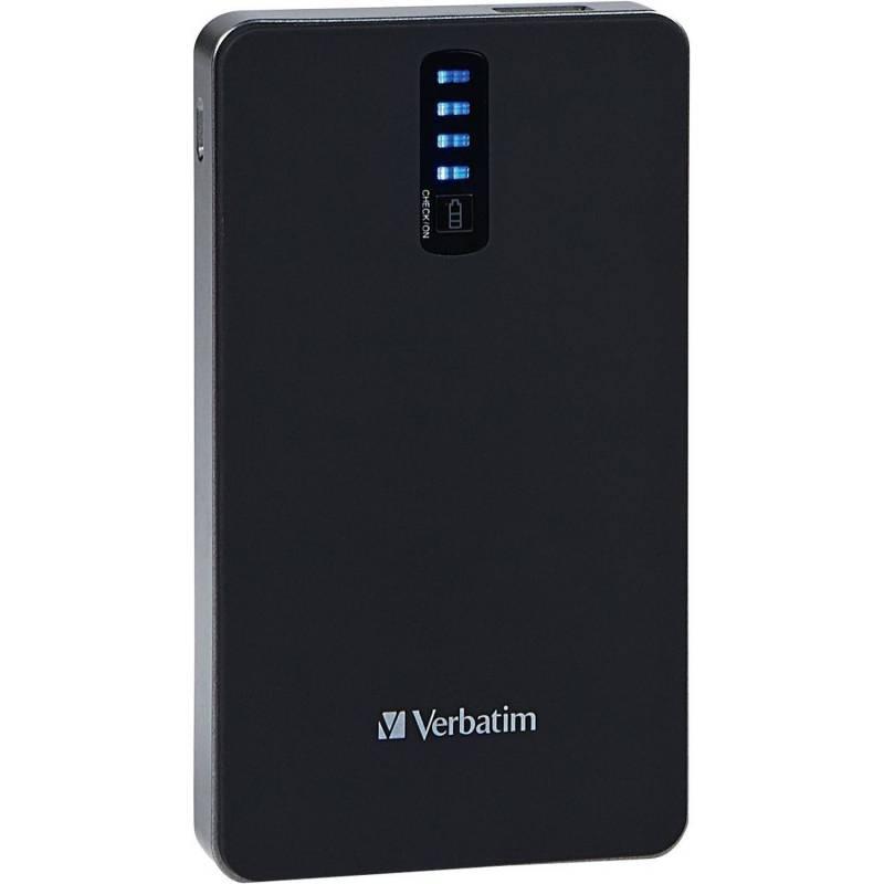 Cargador Portati Verbatim de 8400 mAh Dual USB Power Pack