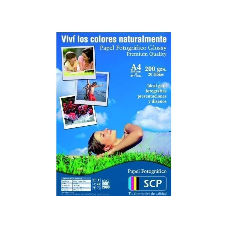 Papel Fotográfico Glossy SCP 155grs.